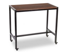 Moonah Outdoor High Bar Table - Spotted Gum