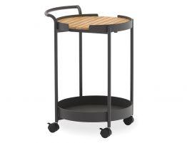 Fino Outdoor Bar Cart - Charcoal