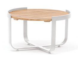 Fino Outdoor Coffee Table - White 60cm