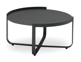 Fino Outdoor Coffee Table - Charcoal 80cm
