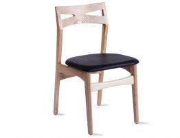 Laak Chair - Natural - Black Pad