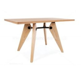 Mila Table - 130x80cm - Natural