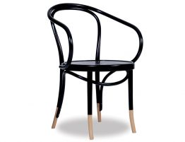 Bentwood B9 Armchair - Black w Socks