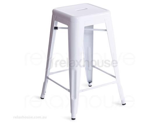 white replica tolix bar stool. Black Bedroom Furniture Sets. Home Design Ideas