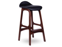 Erik Buch Bar Stool Dark Walnut 1