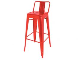 tolix-stool-red-75cm-with-back-rest