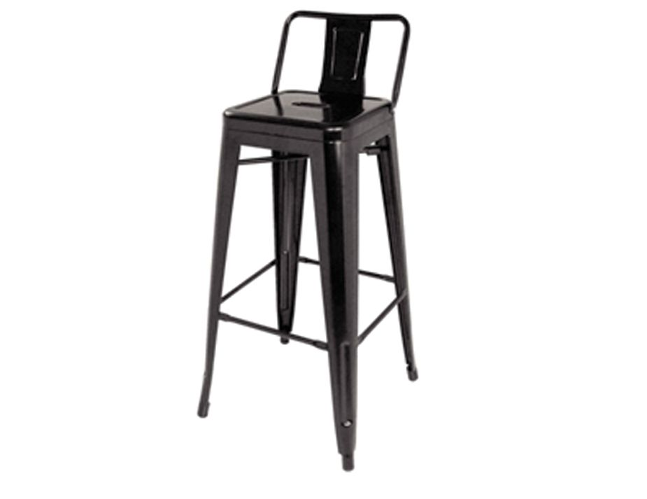tolix stool premium xavier pauchard 75cm stool black. Black Bedroom Furniture Sets. Home Design Ideas