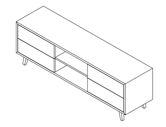 TV Unit 180cm
