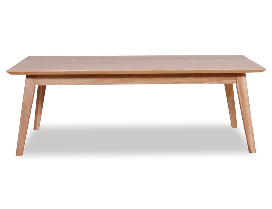 Rectangle Coffee Table Solid Oak Wood