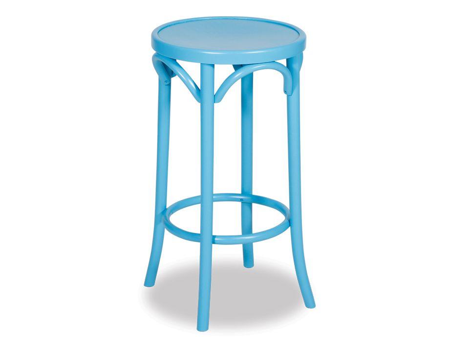 Aqua Blue 68cm Paris Cafe Counter Stool