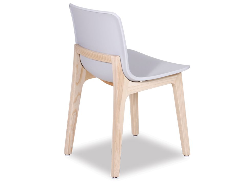 Modern Light Grey Dining Chair