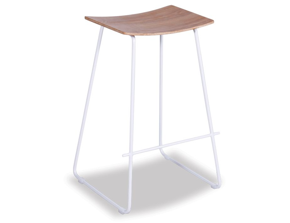 Yvonne Potter Stool White with Oak Wood Seat : wood bar stool from www.relaxhouse.com.au size 925 x 713 jpeg 25kB