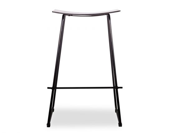 Hudson Stool Black Frame