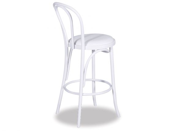 Cushion White Thonet Stool