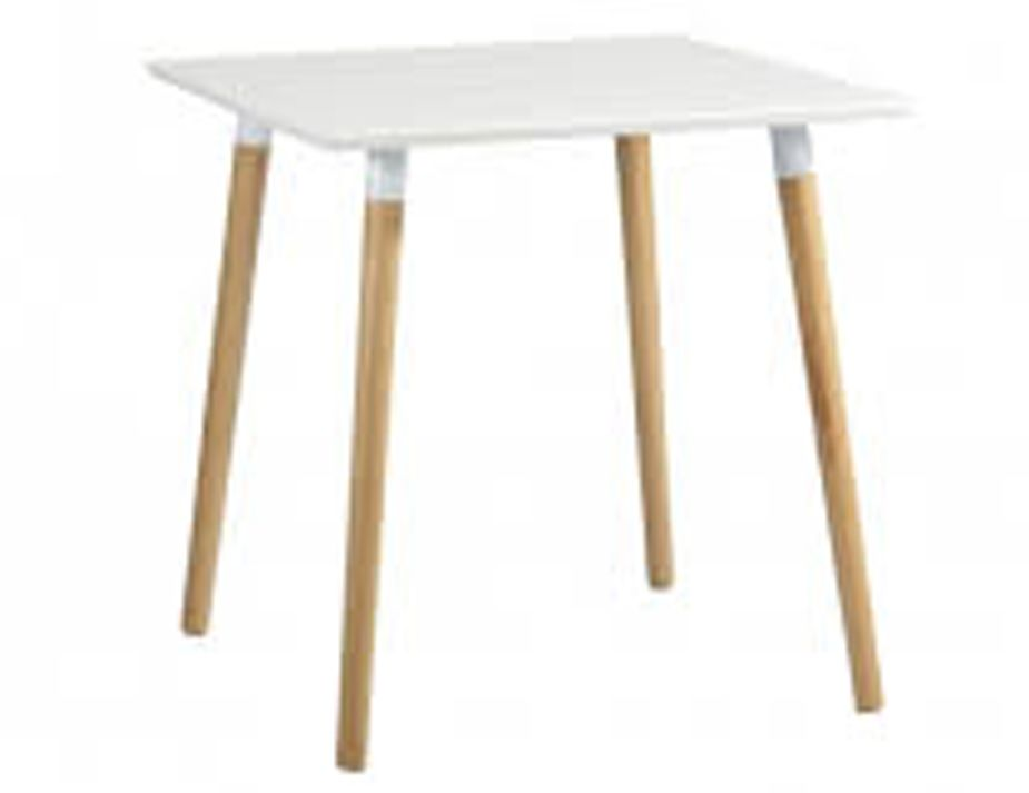 Hayes 80x80cm Natural Ash Dining Table Relax House