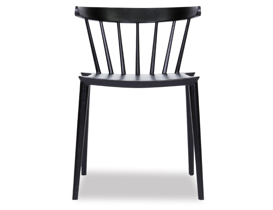 1Saloon Chair Black