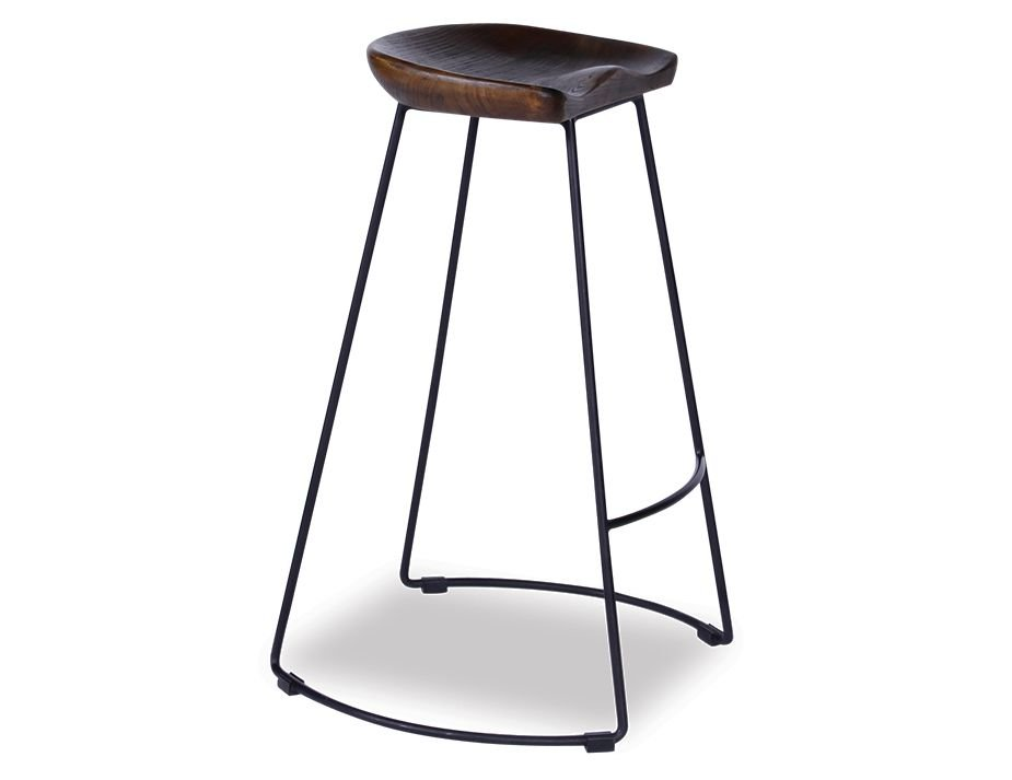 Timber Walnut Designer Bar Stool