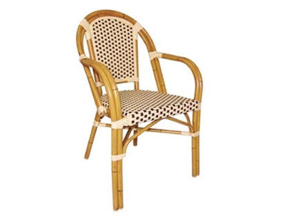 Lero Bistro Wicker Armchair Pack Of 4