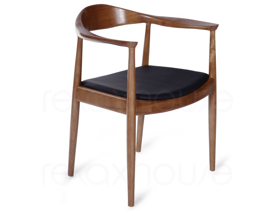 Hans Wegner Round Arm Chair Pp503 Replica American Ash