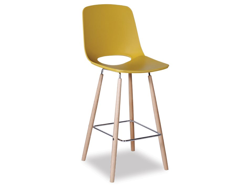 Mustard Wasosky Bar Stool with Beechwood Leg : Wasosky Stool Mustard from www.relaxhouse.com.au size 925 x 713 jpeg 29kB