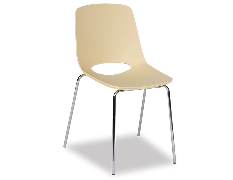 Yellow Wasosky Dining Chair With Post Legs