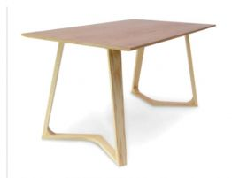 Jean Prouve Round Gueridon Dining Table Natural