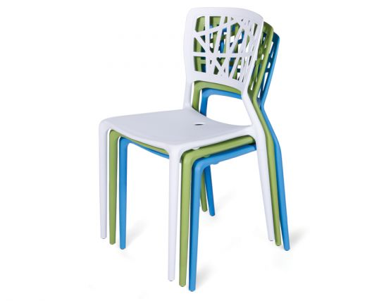 White Viento Cafe Chair Cafe Chairs Melbourne