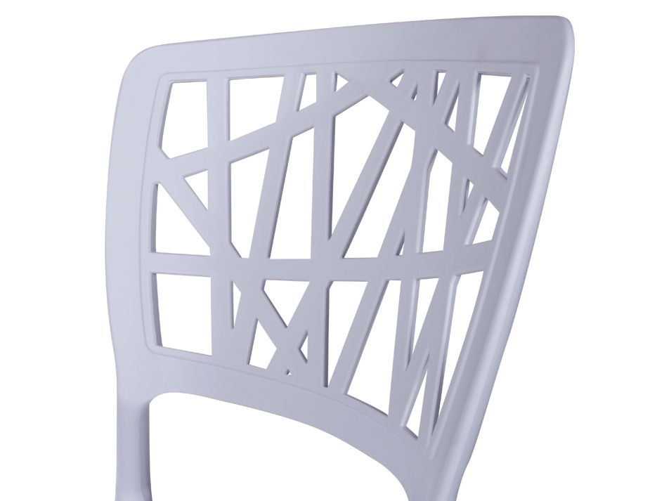 ... Replica Claudio Dondoli Marco Pocci Stacking Chair 6 ...  sc 1 st  Relax House & White Viento Cafe Chair - Cafe Chairs Melbourne