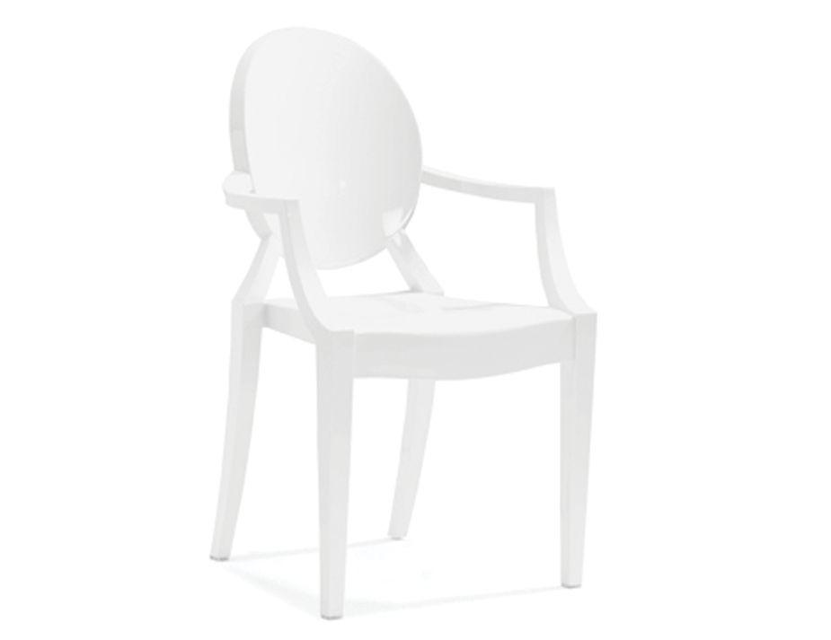 Cream Ghost Chair Replica Louis Ghost