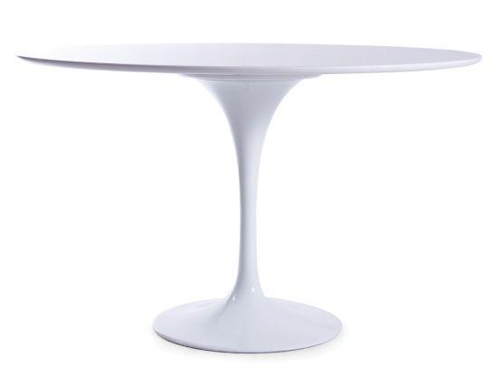 Replica Tulip Table By Eero Saarinen 1200 White