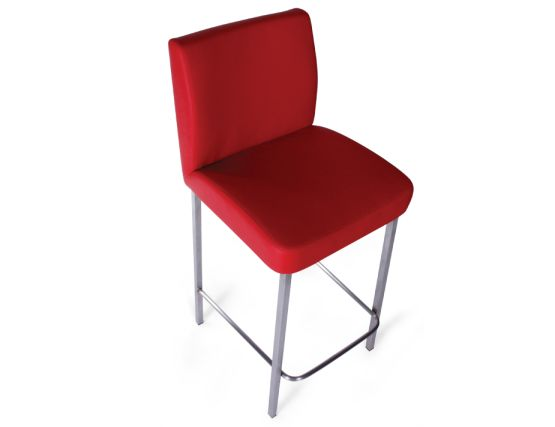 Designer Red Bar Stool