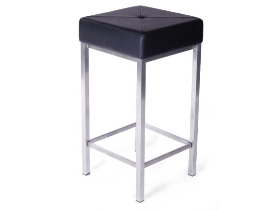 Ava Bar Stool Black Steel Legs11