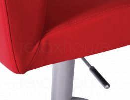 Evelyn Bar Stool Red Brushed Bar Stool4