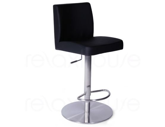 Evelyn Bar Stool Black Brushed Bar Stool1