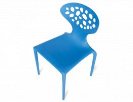 Supernatural Stackable Chair Blue2