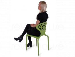 Supernatural Chair  Green Woman