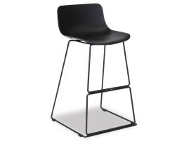 Umbria Stool Black And Black
