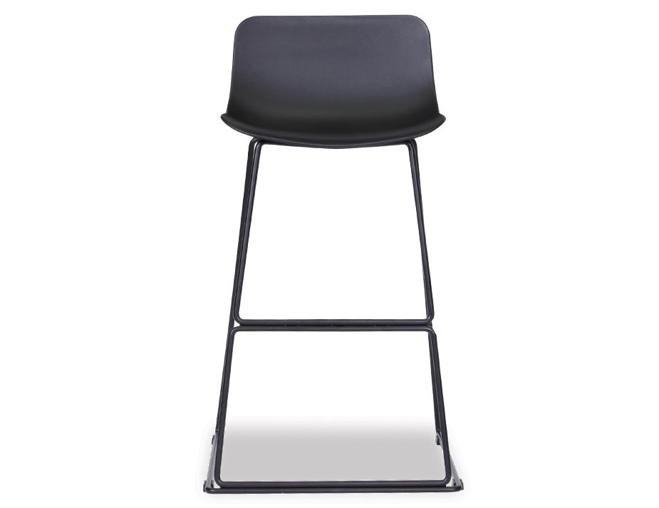 Umbria Kitchen Bar Stool Counter Stool Black Frame