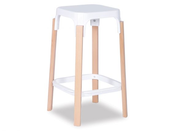 Messida White Stool