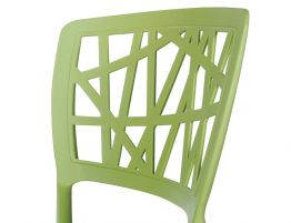 Replica Green Claudio Dondoli Marco Pocci Stacking Chair 6
