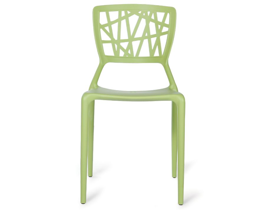 replica viento indoor outdoor stackable plastic cafe chair