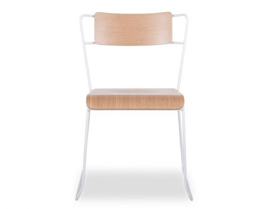 Krafter_White_Chair_Oak_Seat