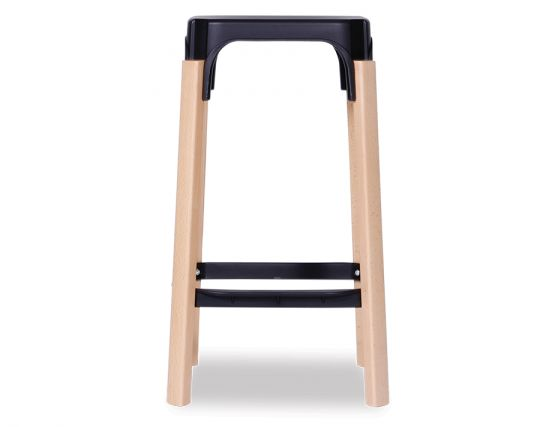 Messina Black Stool