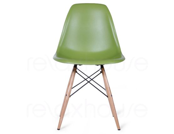 replica eames eiffel dsw chair olive green