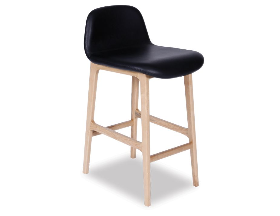 Scandinavian Timber Padded Kitchen Stool : Maxwell Stool from www.relaxhouse.com.au size 925 x 713 jpeg 29kB
