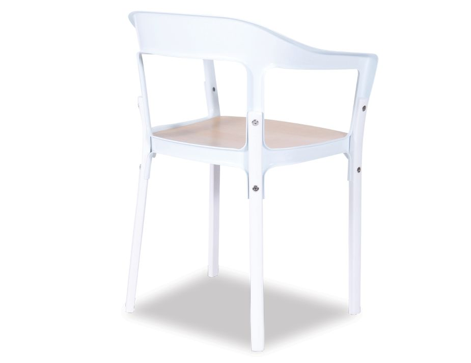 Designer White Chair