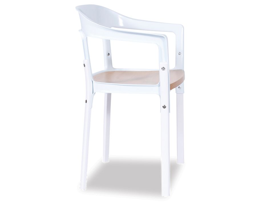 Modenr White Chair