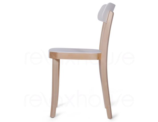 Ridley Wood Plastic Cafe Chair 3