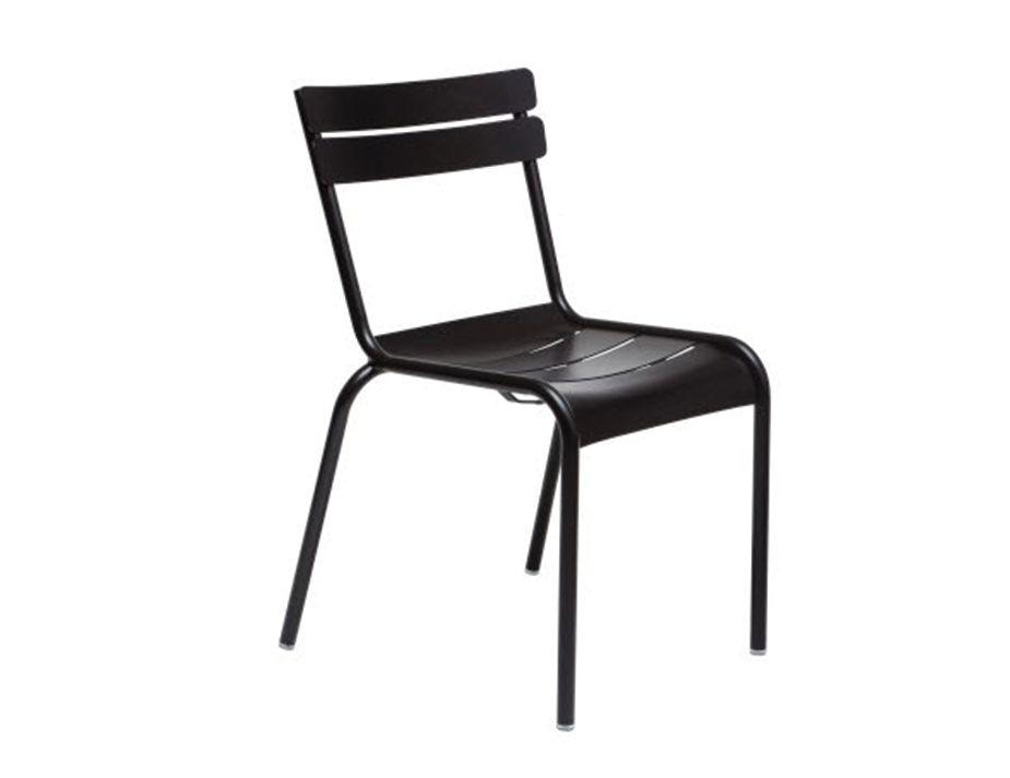 fermob replica aluminium luxembourg chair black