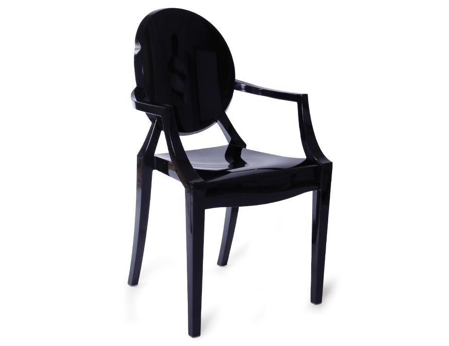 Etonnant ... Replica Louis Ghost Chair Black 1 ...